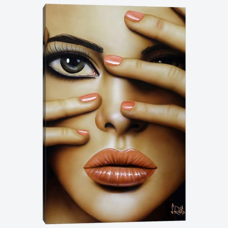 Cover Girl Canvas Print #SCR16} by Scott Rohlfs Canvas Art Print