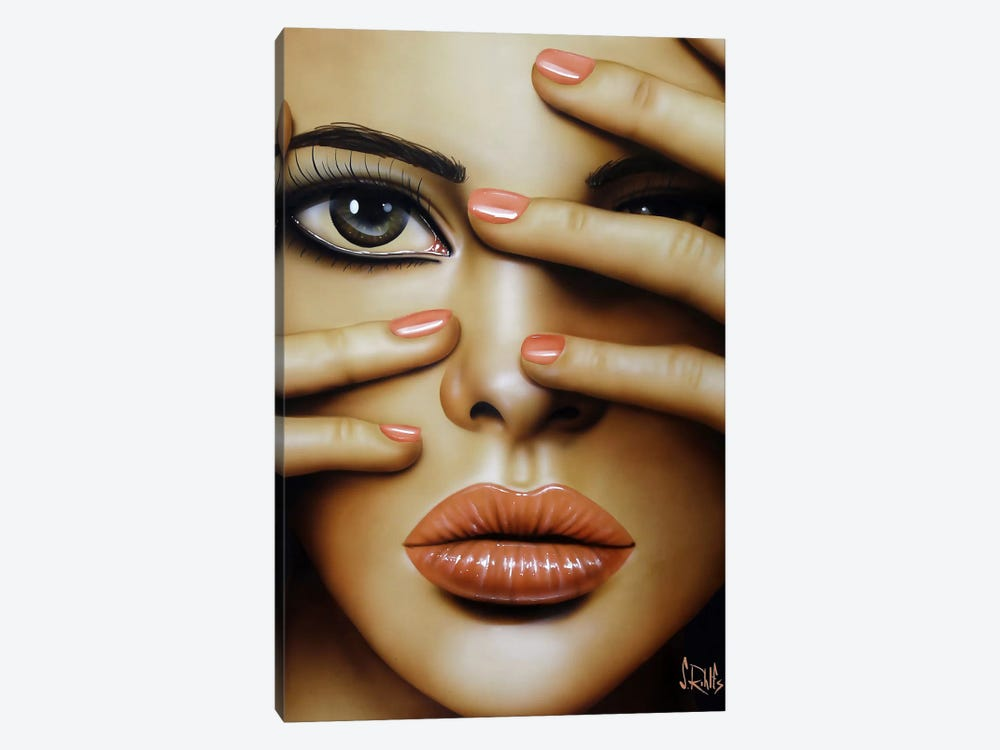 Cover Girl by Scott Rohlfs 1-piece Canvas Print