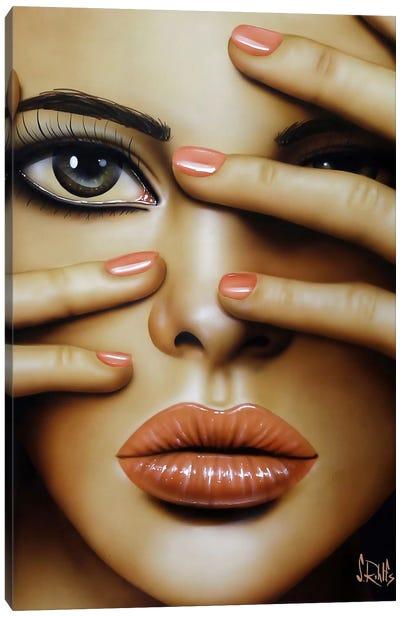 Cover Girl Canvas Art Print