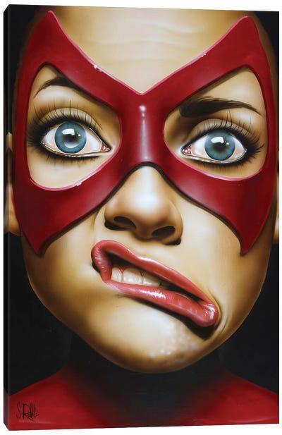 Crooked Smile by Scott Rohlfs Canvas Art Print