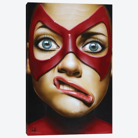 Crooked Smile Canvas Print #SCR17} by Scott Rohlfs Canvas Print
