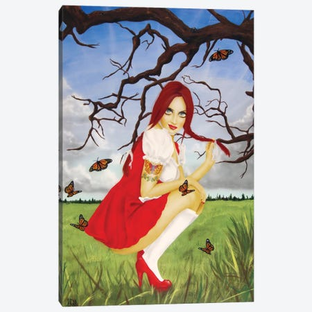 Disenchanted Lullaby Canvas Print #SCR20} by Scott Rohlfs Canvas Art Print