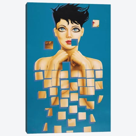 Fall to Pieces Canvas Print #SCR24} by Scott Rohlfs Canvas Art