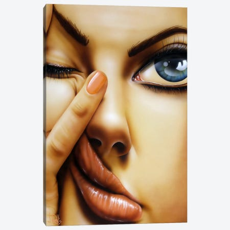 Awake Too Long Canvas Print #SCR2} by Scott Rohlfs Canvas Artwork