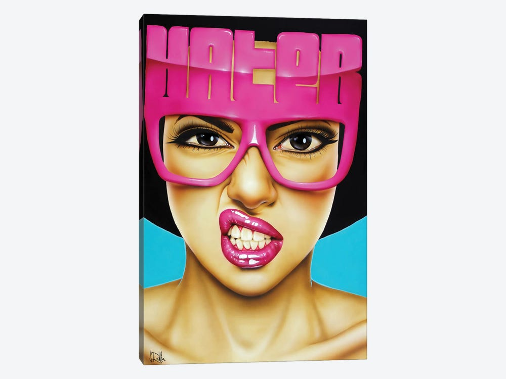 Haters Gonna Hate by Scott Rohlfs 1-piece Canvas Art Print