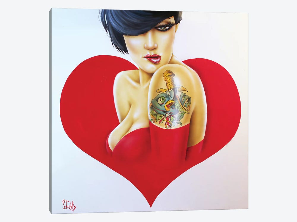 Heartbroken by Scott Rohlfs 1-piece Canvas Artwork