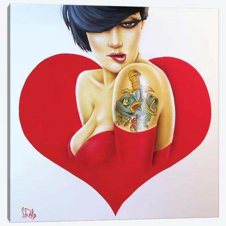 Heartbroken Canvas Print #SCR33} by Scott Rohlfs Canvas Artwork