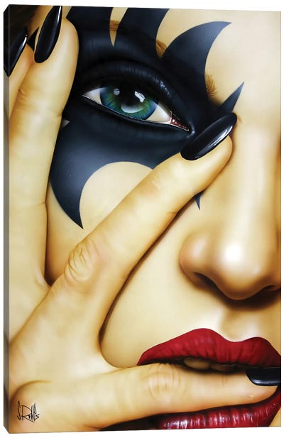 I Knew You Were Trouble by Scott Rohlfs Canvas Art Print