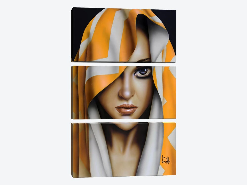 Kiss Me by Scott Rohlfs 3-piece Canvas Artwork