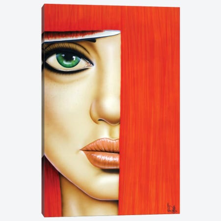Bangin Canvas Print #SCR3} by Scott Rohlfs Canvas Art