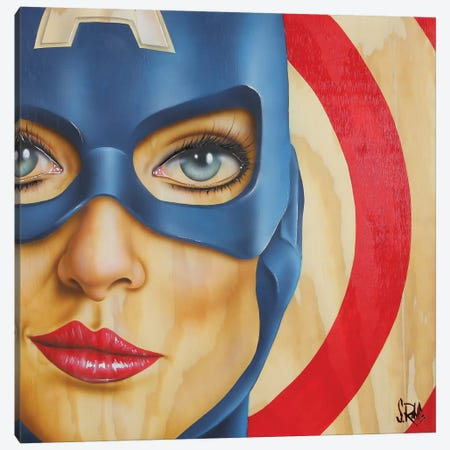 Miss America Canvas Print #SCR46} by Scott Rohlfs Canvas Artwork