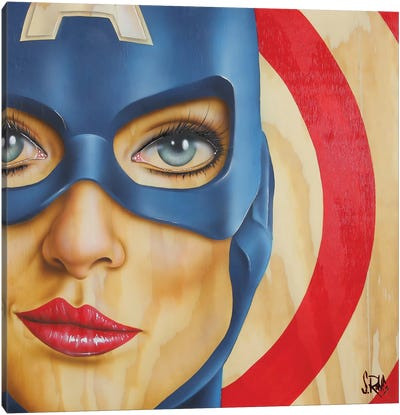 Miss America Canvas Art Print