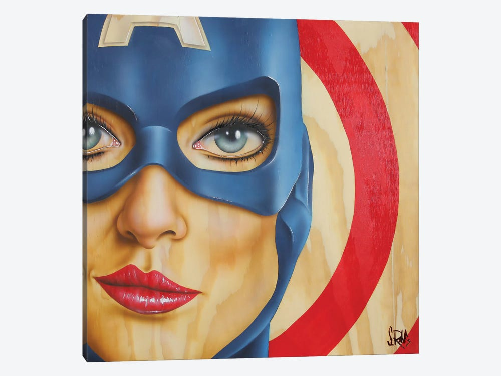 Miss America by Scott Rohlfs 1-piece Canvas Art