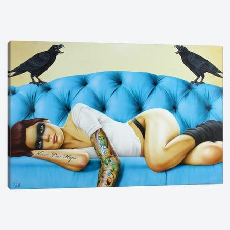 Never Lose Hope Canvas Print #SCR48} by Scott Rohlfs Canvas Art Print