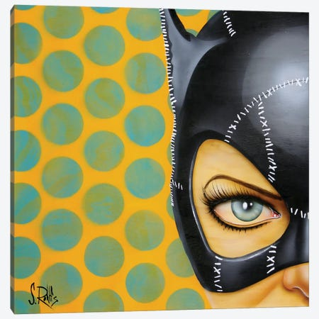 Bat-Girl I Canvas Print #SCR4} by Scott Rohlfs Canvas Art Print