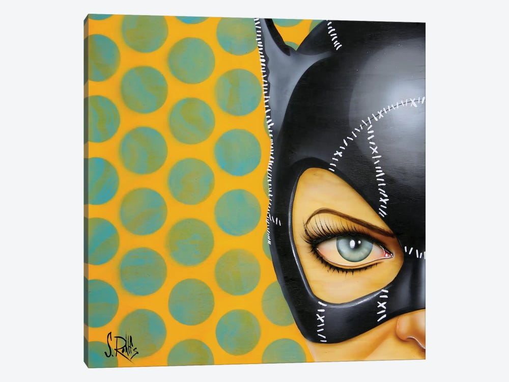 Bat-Girl I by Scott Rohlfs 1-piece Canvas Print