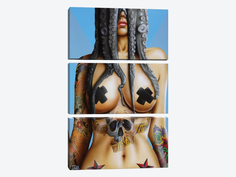 Nothing Lasts Forever by Scott Rohlfs 3-piece Canvas Wall Art