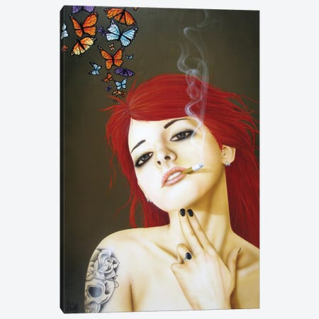 On My Own Canvas Print #SCR52} by Scott Rohlfs Canvas Art