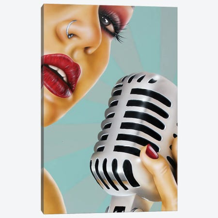 One Note Canvas Print #SCR53} by Scott Rohlfs Canvas Artwork