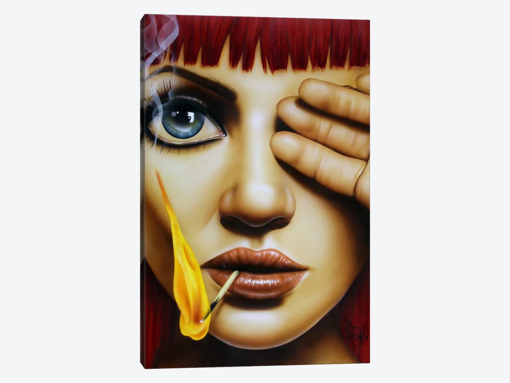Playing With Fire by Scott Rohlfs 1-piece Canvas Wall Art