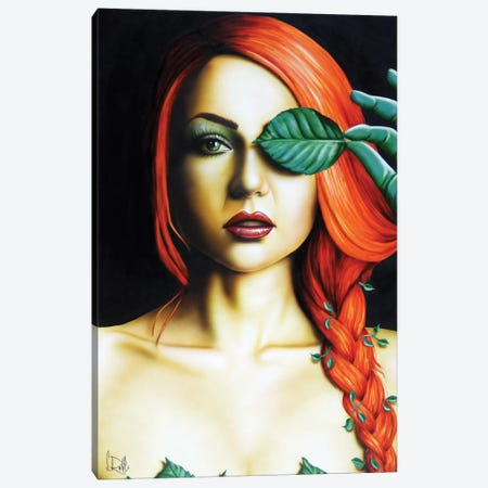 Poison Ivy Canvas Print #SCR58} by Scott Rohlfs Canvas Wall Art
