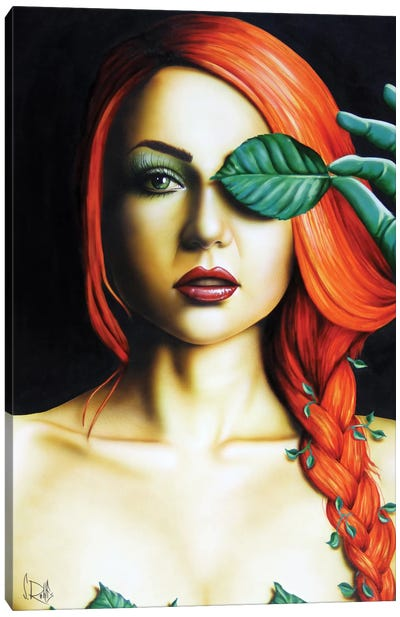Poison Ivy Canvas Print #SCR58