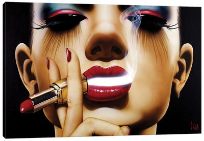 Pour Yourself A Drink by Scott Rohlfs Canvas Wall Art
