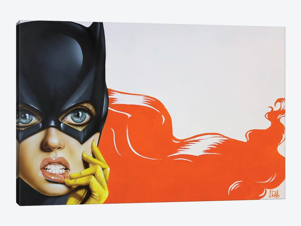 Bat-Girl II by Scott Rohlfs 1-piece Canvas Artwork