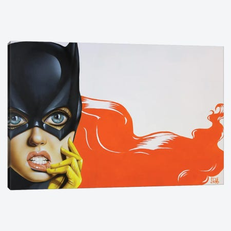 Bat-Girl II Canvas Print #SCR5} by Scott Rohlfs Canvas Print
