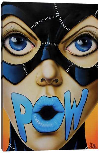 POW! Canvas Art Print