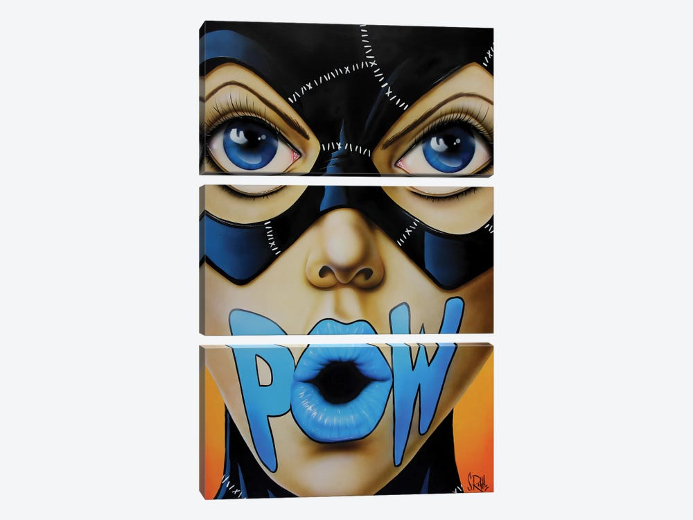 POW! 3-piece Canvas Art