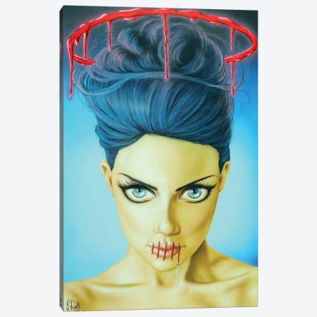 Saints Don't Lie Canvas Print #SCR62} by Scott Rohlfs Art Print