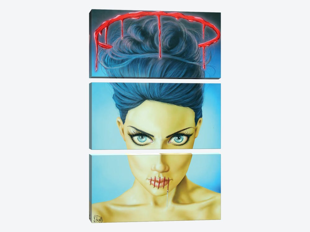 Saints Don't Lie by Scott Rohlfs 3-piece Canvas Wall Art
