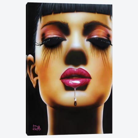 Salivate Canvas Print #SCR63} by Scott Rohlfs Canvas Art Print