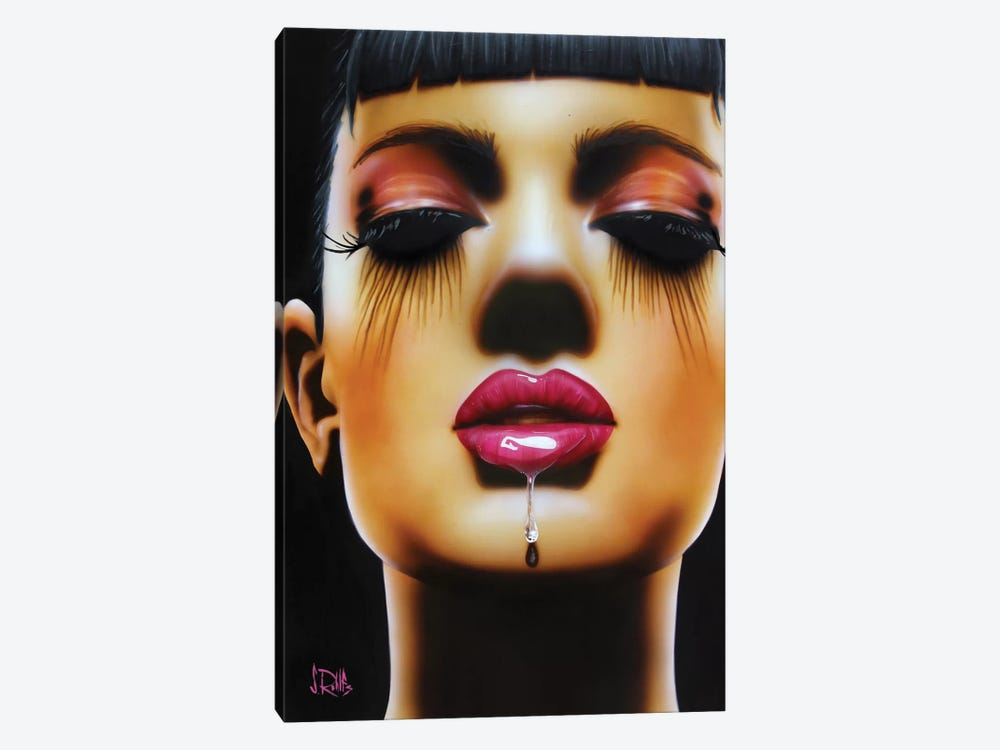 Salivate by Scott Rohlfs 1-piece Canvas Art Print
