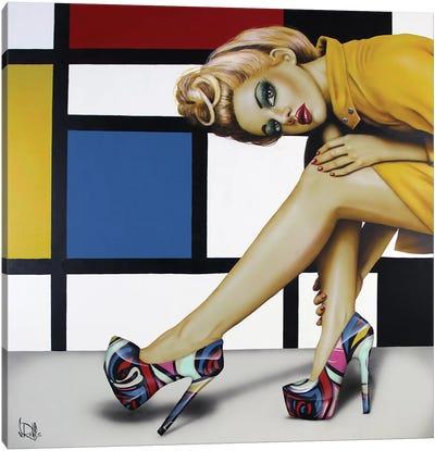 Shoes! Shoes! Never Enough Shoes! Canvas Print #SCR66