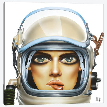 Spaced Canvas Print #SCR68} by Scott Rohlfs Canvas Art Print
