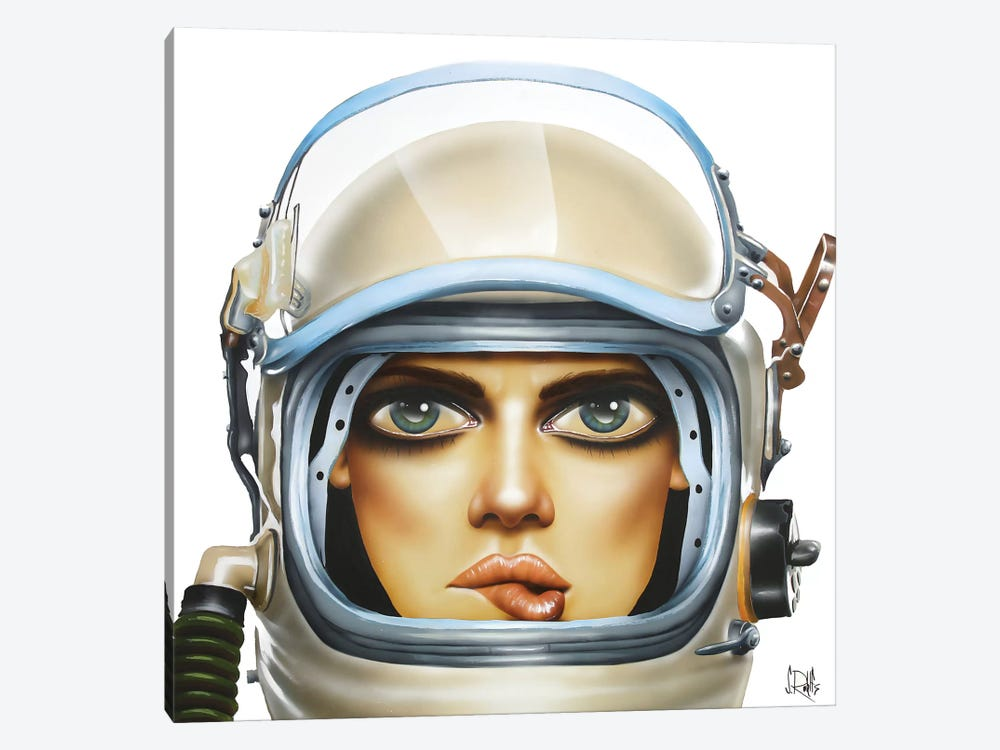 Spaced by Scott Rohlfs 1-piece Canvas Artwork
