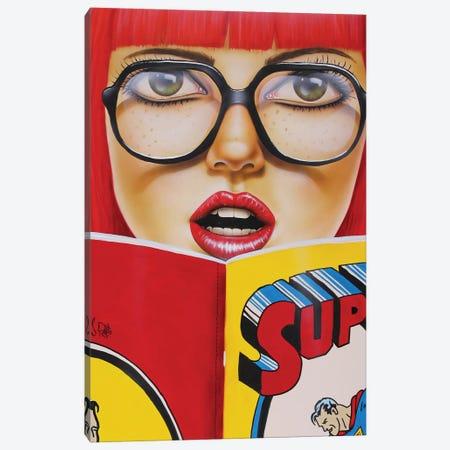 Super Reading Canvas Print #SCR69} by Scott Rohlfs Art Print