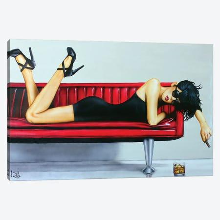 Beautiful Pain Canvas Print #SCR6} by Scott Rohlfs Art Print