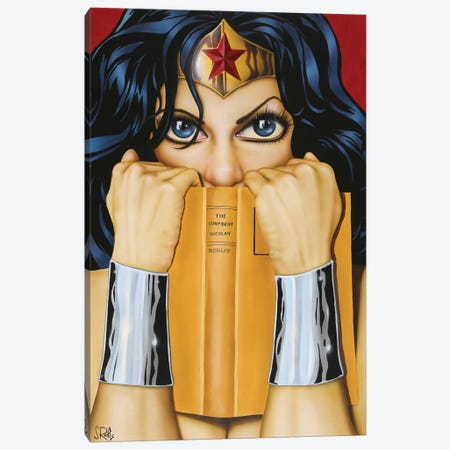 The Confident Woman Canvas Print #SCR72} by Scott Rohlfs Canvas Artwork