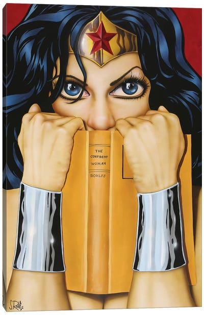 The Confident Woman Canvas Art Print