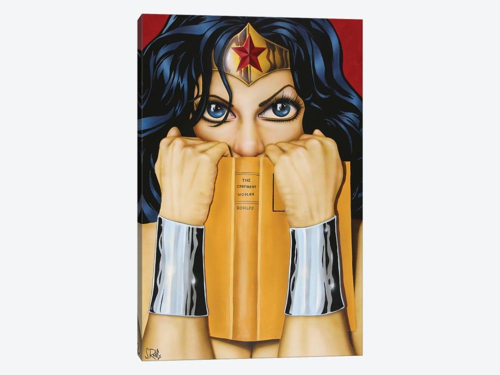 The Confident Woman by Scott Rohlfs 1-piece Art Print