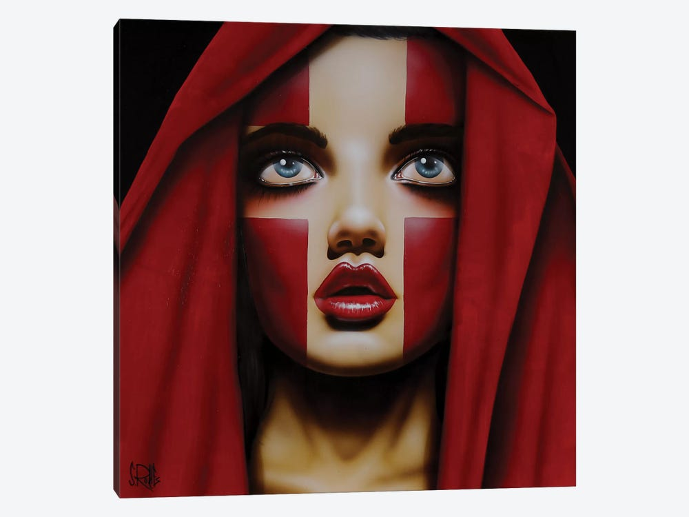 Where The Lines Overlap by Scott Rohlfs 1-piece Canvas Art