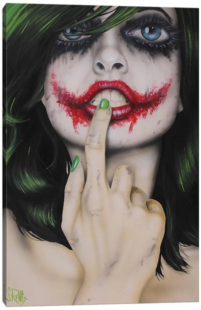 Why So Serious Canvas Art Print