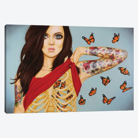 You Give Me Butterflies Canvas Print #SCR85} by Scott Rohlfs Canvas Art