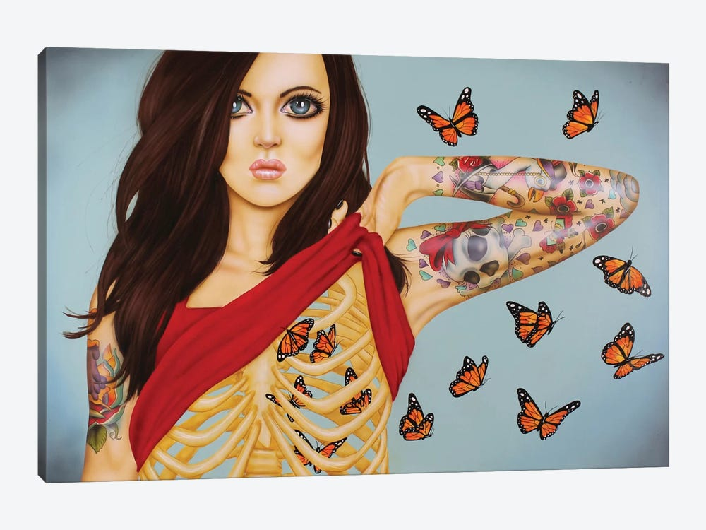 You Give Me Butterflies 1-piece Art Print