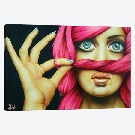 You'll Never Know Canvas Print #SCR86} by Scott Rohlfs Canvas Wall Art