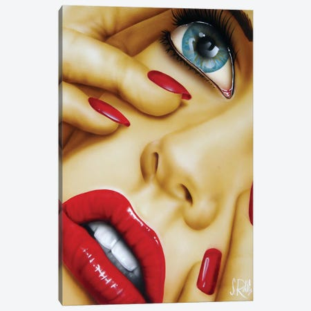Mistified Canvas Print #SCR88} by Scott Rohlfs Art Print