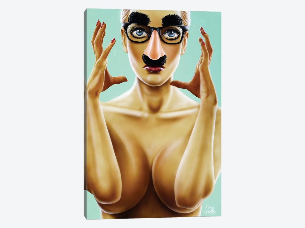 Stuck In This Skin by Scott Rohlfs 1-piece Art Print